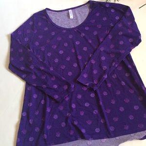 Lularoe pullover shirt 2XL